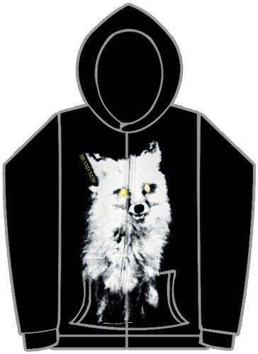 brand new wolf hoody